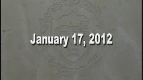 Thumbnail for entry NTHS Board of Ed Meeting 1-17-2012