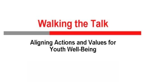 Thumbnail for entry Walking The Talk (2011)