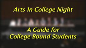 Thumbnail for entry Arts In College Night (2013)