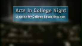 Thumbnail for entry Arts In College Night 9-21-2015