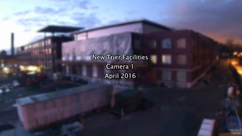 Thumbnail for entry April 2016 Facilities Camera Timelapse