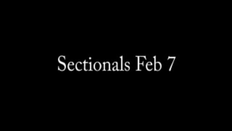 Thumbnail for entry Sectionals-2/7/13: Vault