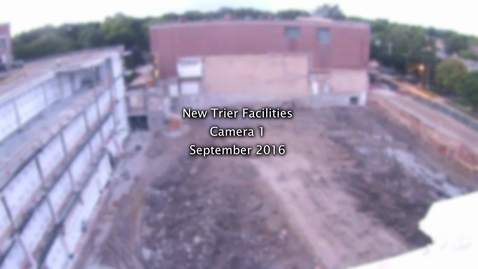 Thumbnail for entry September 2016 Facilities Camera Timelapse