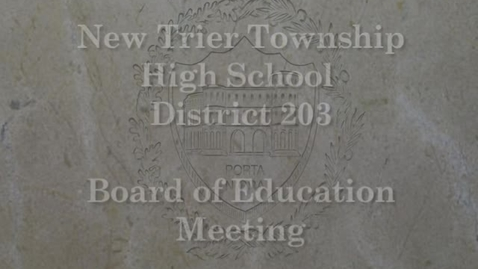 Thumbnail for entry NTHS Board of Ed Mtg 2-19-2018