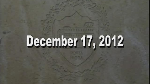 Thumbnail for entry NTHS Board of Ed Meeting 12-17-2012