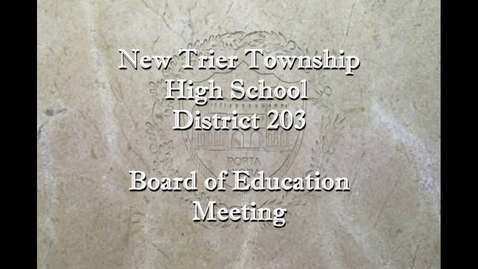 Thumbnail for entry NTHS Board of Ed Mtg 2-18-20.