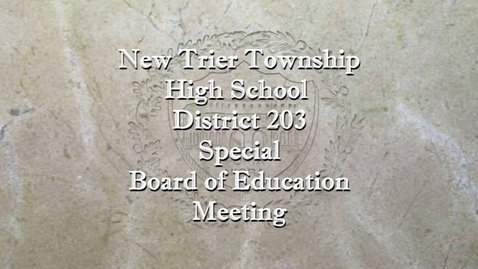 Thumbnail for entry NTHS Special Board of Ed Mtg 11-24-20.