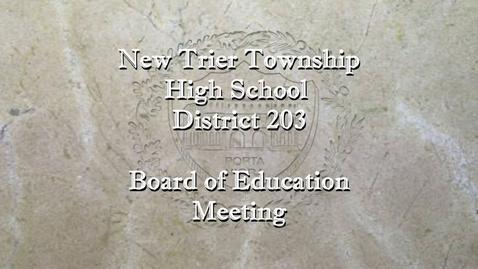 Thumbnail for entry NTHS Regular Board of Ed Mtg 8-23-21.