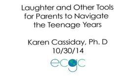 Thumbnail for entry Laughter & Other Tools For Parents To Navigate The Teenage Years (2014)