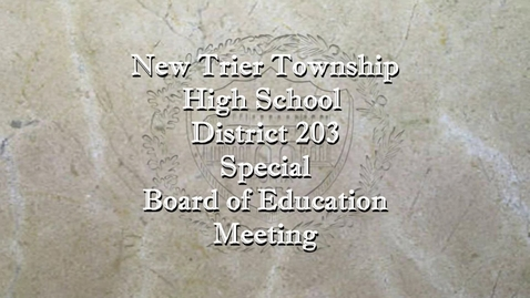 Thumbnail for entry NTHS Special Board of Ed Mtg 5-3-21.