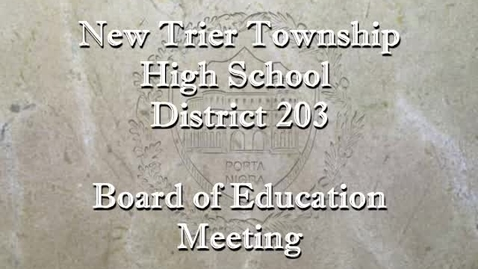 Thumbnail for entry NTHS Board of Ed Mtg  8-26-2019