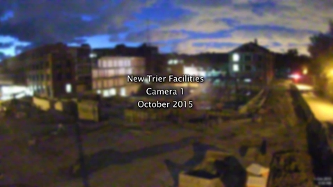 Thumbnail for entry October 2015 Facilities Project Time-lapse