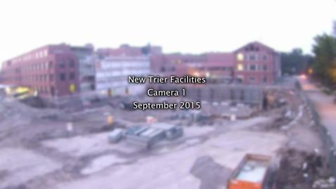 Thumbnail for entry September 2015 Facilities Project Time-lapse
