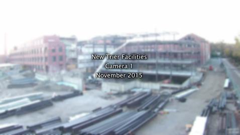 Thumbnail for entry November 2015 Facilities Project Time-lapse