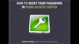 Thumbnail for entry Reset HAC Password