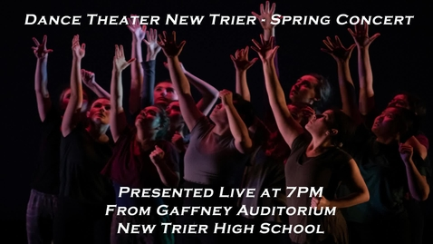 Thumbnail for entry Dance Theater New Trier presents its Spring Concert as a live-stream performance .