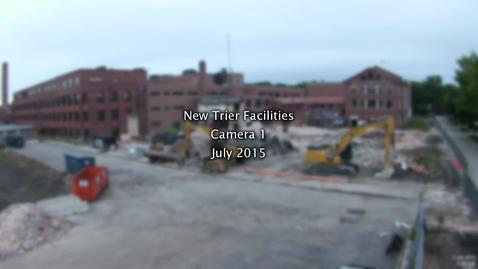 Thumbnail for entry July 2015 Facilities Project Time-lapse