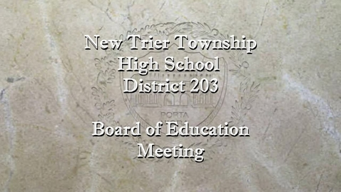 Thumbnail for entry NTHS Regular Board of Ed Mtg 1-19-21.