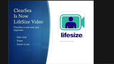 LifeSize Video Recording to Video Center