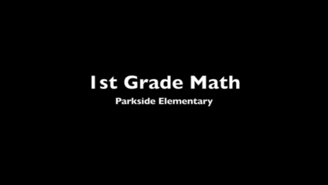 Thumbnail for entry Parkside 1st  Math - Self-Pace System
