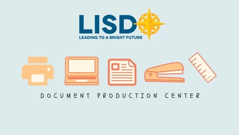 Thumbnail for entry Orientation to using Document Production Center