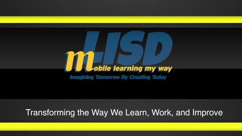 Thumbnail for entry mLISD Student Ownership and Engagement