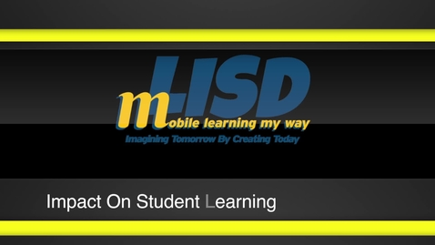 Thumbnail for entry mLISD Innovative Teaching and Learning