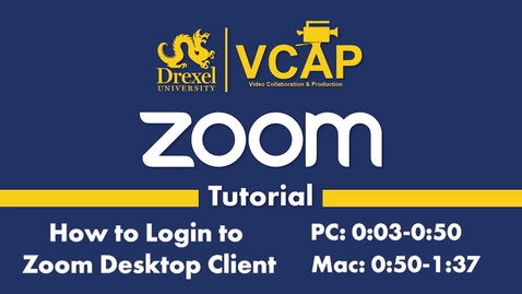 Thumbnail for entry Login to Zoom Desktop Client