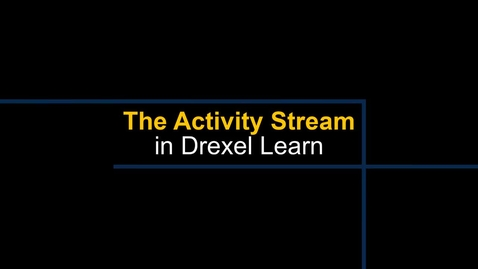 Thumbnail for entry Ultra Nav Activity Stream