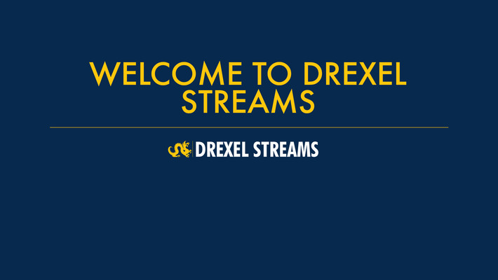 Drexel Streams - Introduction
