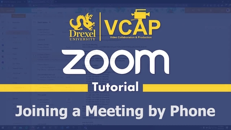 Thumbnail for entry How to Join a Zoom call