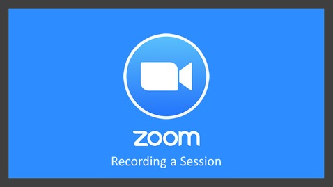 Thumbnail for entry Zoom: Recording