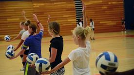 Thumbnail for entry Volleyball Camp