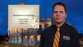 Thumbnail for entry Introduction to Cryptology