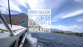 Thumbnail for entry Guatemala Highlights
