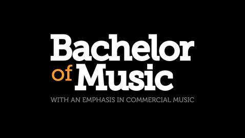 Thumbnail for entry Bachelor of Music