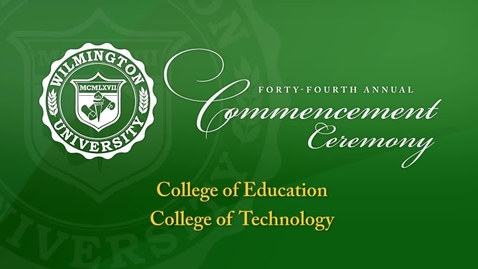 Thumbnail for entry Winter Ceremony 3 - Education, Technology
