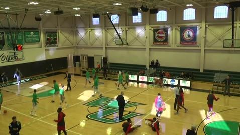 Thumbnail for entry Men's Basketball vs. #19 Shippensburg