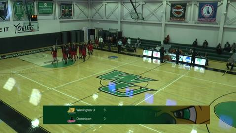Thumbnail for entry Women's Basketball vs. Dominican College