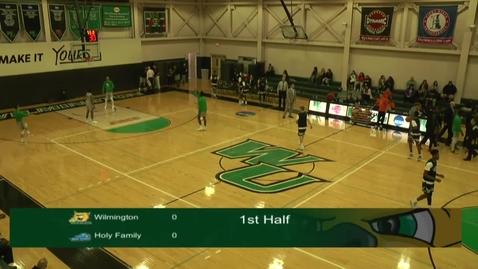 Thumbnail for entry Men's Basketball vs. Holy Family