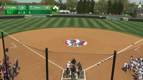 Thumbnail for entry Softball vs. Shippensburg (Game 1)