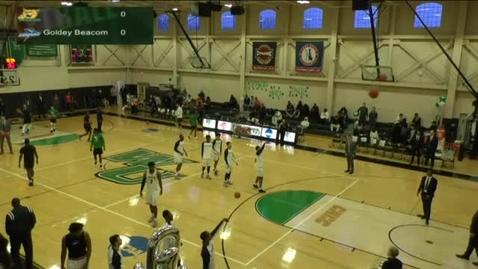 Thumbnail for entry Men's Basketball vs. Goldey-Beacom