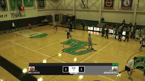 Thumbnail for entry Men's Basketball vs. West Chester University
