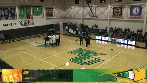 Thumbnail for entry Men's Basketball vs. Georgian Court