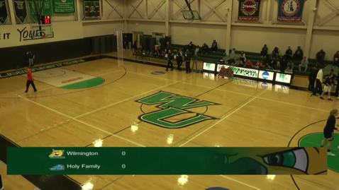 Thumbnail for entry Women's Basketball vs. Holy Family