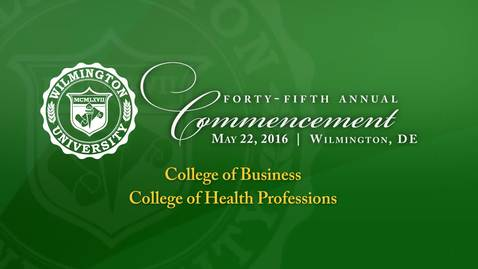 Thumbnail for entry College of Business-College of Health Professions