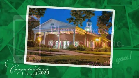 Thumbnail for entry College of Business Winter Commencement - Wilmington Hall 10 AM