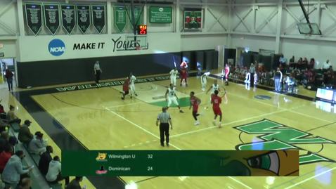 Thumbnail for entry Men's Basketball vs. Dominican College