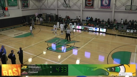 Thumbnail for entry Men's Basketball vs. Caldwell - CACC Tournament
