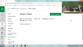 Thumbnail for entry Navigating your Course, Modules, and Syllabus